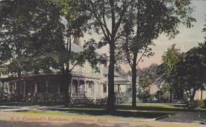 Michigan Coldwater M D Campbells Residence