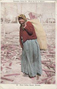 Piute Indian Squaw , Nevada , 1900-10s