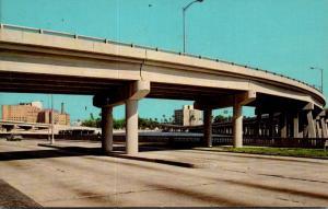 Florida Tampa Bridges Across The Bay To Davis Island
