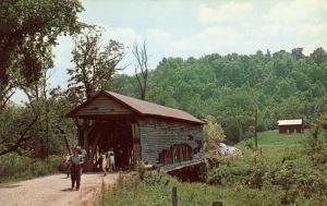 Covered Bridge to Yester-Year - Guernsey County, Ohio