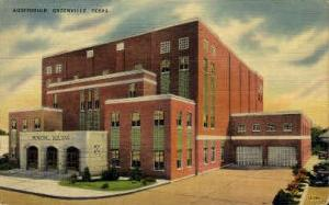 Auditorium Greenville TX 1953