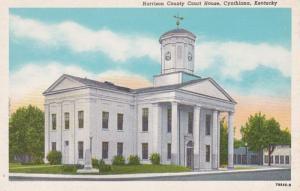 Kentucky Cynthiana Harrison County Court House Curteich