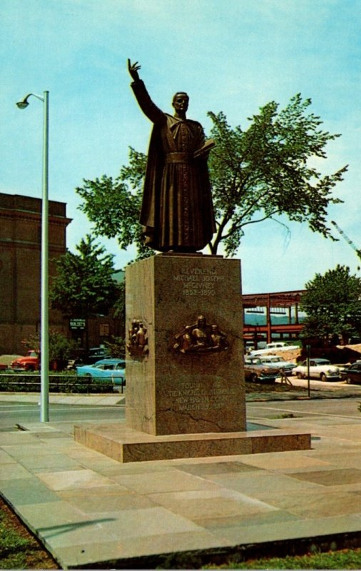 Connecticut Waterbury Michael J McGivney Monument Founder Of The Knights Of C...