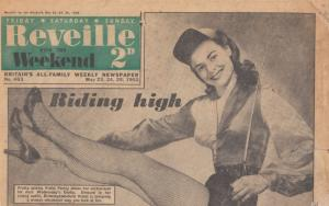 Birmingham Derby Horse Race Model Tatty 1952 Newspaper
