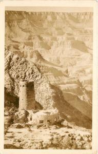 DV-1047. Devils Tower, Grand Canyon AZ Real Photo Postcard
