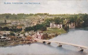 Bridge, Chepstow And The Castle, Wales, UK, 1900-1910s
