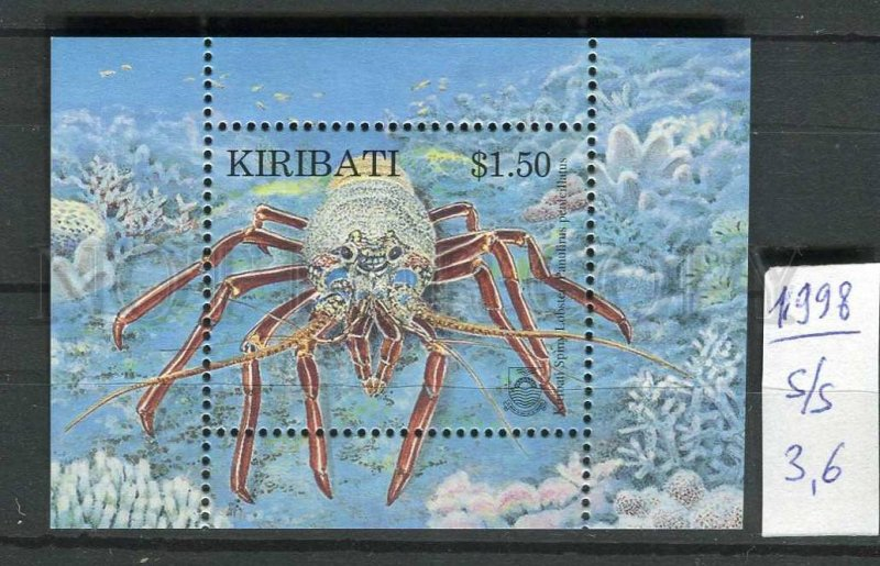 265725 KIRIBATI 1998 year MNH S/S crab