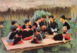 Thailand Lahu Family, Odl Chiangmai Cultural Center  Lahu Family, Odl Chiangm...
