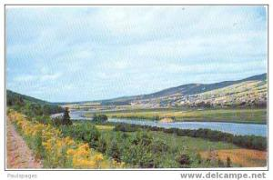 Margaree Valley Cape Breton Nova Scotia , Canada, Pre-zip Code chrome