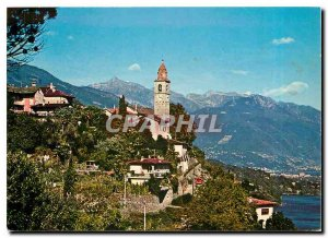 Postcard Modern Ronco Ascoras Lago Maggiore