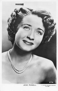 Jane Powell Cinema Movie Star Actress Singer Dancer, Real Photo