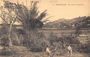 Africa Madagascar Un coin de Tananarive