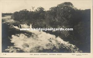 rhodesia, Victoria Falls, The Devils Cataract (1930s) RPPC