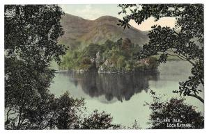 Scotland Loch Katrine Ellens Isle Stirling Trossachs Postcar