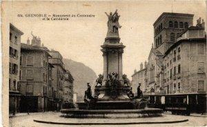 CPA AK GRENOBLE - Monument du Centenaire et la Cathédrale (667478)