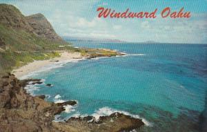 Hawaii Oahu The Wondward Side Viewed From Makapuu Point