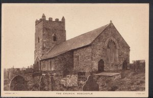 Cornwall Postcard - The Church, Boscastle   RS331