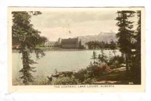 RP; The Chateau, Lake Louise,Canada,PU-1947