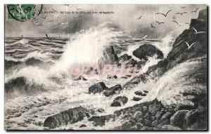 Old Postcard Le Havre Cape of Heve a Day The empete