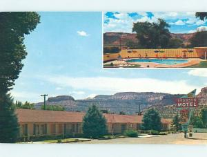 Unused Pre-1980 MOTEL SCENE Kanab Utah UT HJ8199