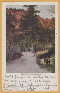 Colorado Springs, Colo., North Cheyenne Canyon - 1908