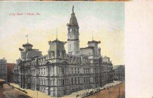 City Hall, Philadelphia, Pennsylvania, early postcard, unused