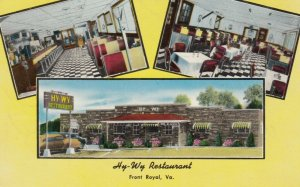 FORT ROYAL , Virginia , 50-60s ;  Hy-Wy Restaurant