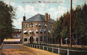 Post Office, Asbury Park, New Jersey, Early Postcard, Unused
