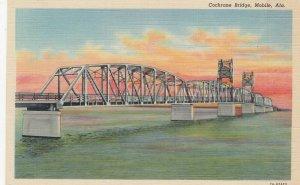 MOBILE , Alabama , 1930-40s ; Cochrane Bridge