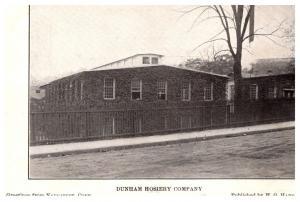 Connecticut Naugatuck ,  Dunham Hosiery Company