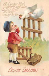 Easter Greetings Holiday 1916