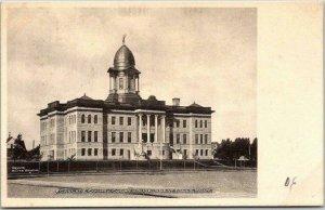 Great Falls, Montana Postcard CASCADE COUNTY COURT HOUSE Albertype c1900s UNUSED