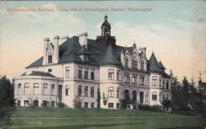 Admin Bldg , University of Washington , Seattle , Washington , 00-10s