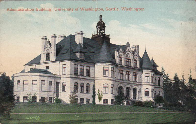 Admin Bldg , University of Washington , Seattle , Washington , 00-10s