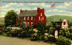 PA - Uniontown, Fort Necessity. Museum