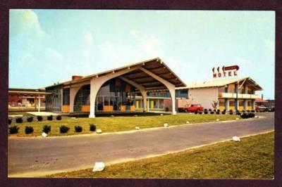 DE Gateway Motor Inn Motel NEW CASTLE DELAWARE POSTCARD
