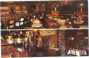 Interior of Ye Olde Oyster Cabin Uxbridge Massachusetts MA, Chrome