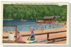 Blairsville, Georgia/GA Postcard,Vogel State Park,Near Mint!