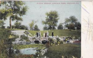 Illinois  Chicago Rustic Bride Lincoln Park