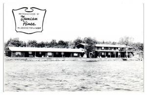 Caravan Beach Motel on Lake Bemidji, Bemidji, MN Postcard