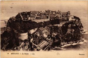 CPA Monaco - Le Rocher (477108)
