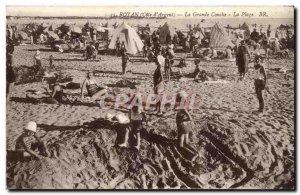 Royan - La Grande Conche - The Beach - Old Postcard
