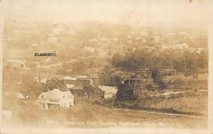 OZARK, MISSOURI BIRD'S EYE VIEW LOOKING SOUTHEAST-1913 RPPC REAL PHOTO P.C.