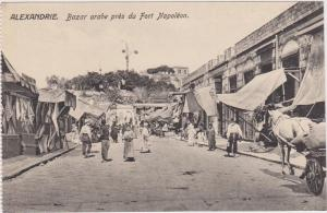 ALEXANDRIE. Bazar arabe pres du Fort Napoleon , Egypt , 00-10s