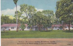 Florida Moosehaven Buckeye Montaineer Building