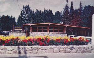 Information building at the entrance to Kakabeka Falls Provincial Park,  Kaka...