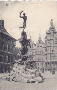 Anvers , Belgium, 00-10s : Grand'Place .-Fontaine Brabo