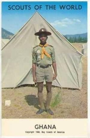 Scouts Of The World, GHANA, 1968