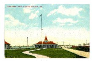 RI - Newport. Government Naval Landing
