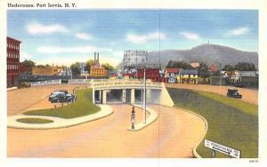 Underpass Port Jervis, New York Postcard